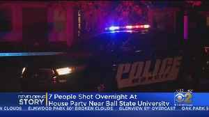 Shooting Near Ball State University Leaves 7 Wounded [Video]