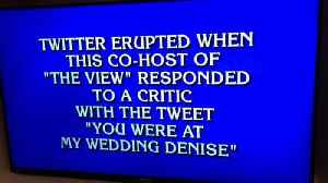 News video: Meghan McCain's 'You Were At My Wedding' Tweet Resurfaces On 'Jeopardy!'