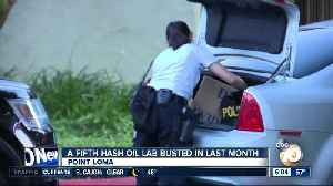 Point Loma hash oil lab is fifth bust in last month [Video]