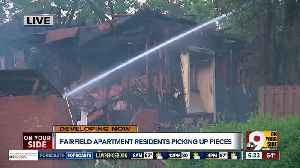 Fairfield apartment residents displaced after fire [Video]