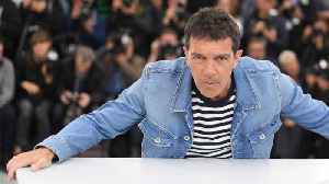 News video: Antonio Banderas Explains How A Heart Attack Changed His Life