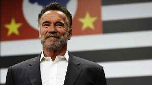 Arnold Schwarzenegger Gets Attacked During Sporting Event [Video]