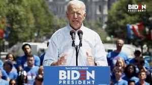 News video: Biden At Kick-Off Rally: Trump Is The 'Divider-In-Chief'