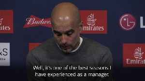 News video: Pep Guardiola: What we have done is harder than winning the Champions League