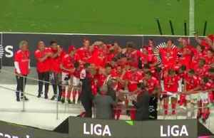 Benfica celebrate once again after clinching 37th Portuguese league title [Video]