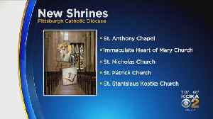 Catholic Dioceses Announces New Shrines And Mergers [Video]