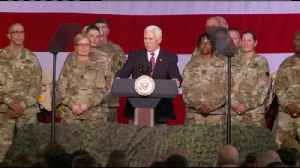 Vice President Mike Pence visits Fort McCoy [Video]