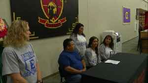 East Softball Star Signs With Oklahoma College [Video]