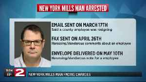 New York Mills man facing charges [Video]