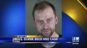 Eugene Police find drugs, silver, gold, cash when serving search warrant [Video]