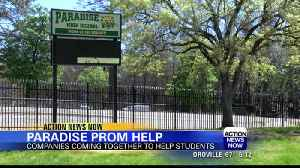 Paradise High School prom happens with Keller Williams help [Video]