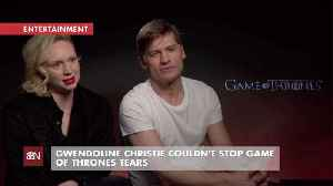Gwendoline Christie Cried At The End Of 'Game of Thrones' [Video]
