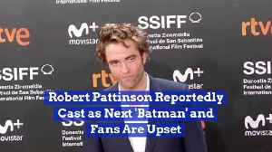Robert Pattinson Might Play The Caped Crusader [Video]