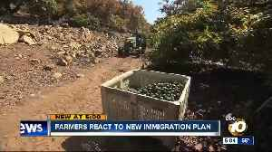 Farmers react to new immigration plan [Video]
