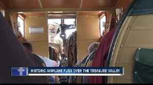 History in flight above Boise [Video]