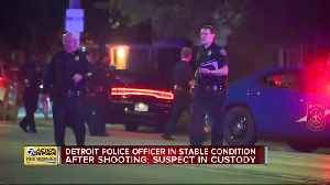 DPD Officer Shot, Wounded Suspect in Custody [Video]