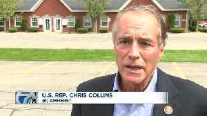 Chris Collins responds to Chris Jacobs NY-27 announcement [Video]