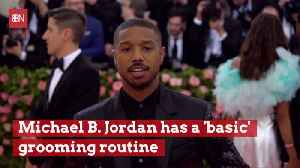 Michael B. Jordan Stays Good Looking With This Routine [Video]
