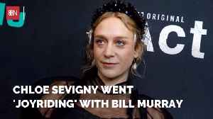 Chloe Sevigny Knows How To Have Fun With Bill Murray [Video]