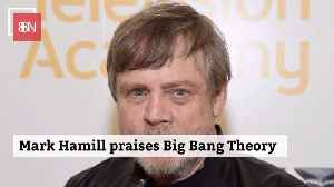Mark Hamill Believes 'Big Bang Theory' Helped Elevate Nerds [Video]