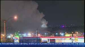 Roads Reopened After NJ Chlorine Plant Fire [Video]