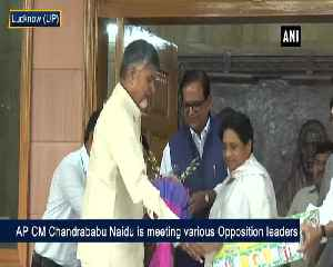 News video: Chandrababu Naidu reaches out to Opposition leaders ahead of election results