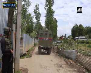Sopore Encouner Security forces gun down one terrorist [Video]