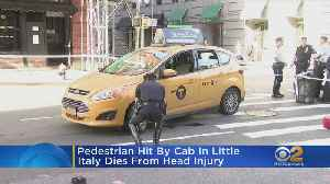 Cab Fatally Strikes Woman In Little Italy [Video]