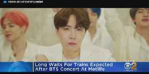 NJ TRANSIT Nightmare Expected After BTS Concerts [Video]