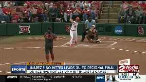 OU & OSU Softball Both Win at Regionals; OSU Advances to Super Regionals [Video]