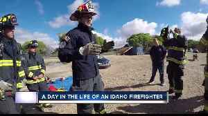 Professional Fire Fighters of Idaho host Fire OPS 101 [Video]