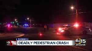 Pedestrian hit and killed at 32nd Street and Osborn [Video]