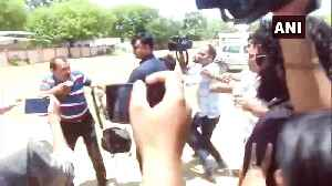 News video: Tej Pratap Yadav's security guards beat camera person in Patna