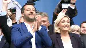 European far-right populists rally with Matteo Salvini in Milan [Video]