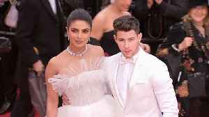 Cannes 2019: Priyanka Chopra, Nick Jonas twin in white at red carpet [Video]
