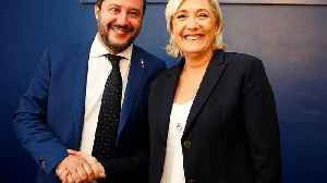Salvini and Le Pen rally to unite European nationalists in Milan [Video]
