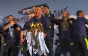 News video: Kompany to leave Man City on a high after treble