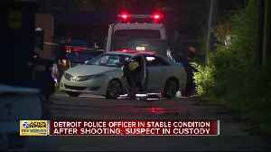 DPD Officer shot, Suspect wounded [Video]