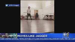 News video: Mick Jagger Shows Off Dance Moves After Heart Surgery