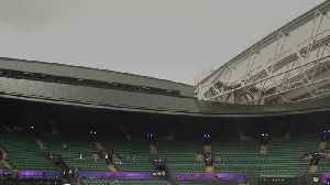 Wimbledon celebrates new roof on No. 1 Court [Video]