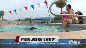 National learn how to swim day [Video]