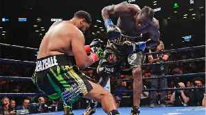 News video: Deontay Wilder's Devastating Right Hand Gave Him A First-Round Knockout Against Dominic Breazeale
