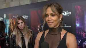 News video: A Stunning Halle Berry At 'John Wick 3' Premiere