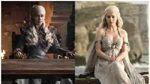 Emilia Clarke Says Goodbye To 'Game Of Thrones' Before Finale [Video]