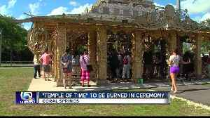 Temple memorial to Parkland shooting victims to be burned [Video]