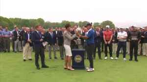 Koepka has the trophy... again! [Video]