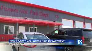 Hundreds celebrate new Forest Volunteer Fire Department station [Video]