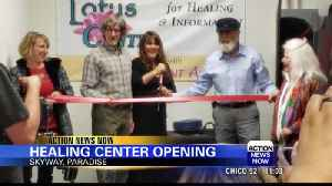 Lotus Guide Center for Healing opened in Paradise Saturday [Video]