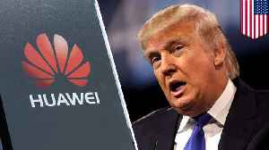 News video: Trump ban on foreign telecom gear targets Huawei