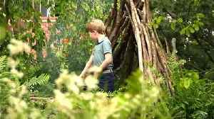 George, Charlotte and Louis visit Chelsea Flower Show [Video]